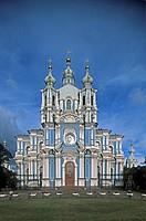 Russia _ St Petersburg _ Smolny Monastery