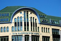 The Hackescher courtyards in Berlin