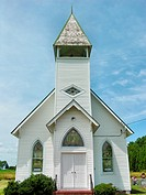 Country church in Tilghman Island, MD