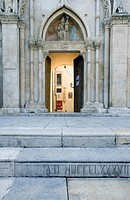 Italy. Abruzzo. Sulmona, the Annunziata church XV_XVIII century