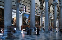 Tuscany, Pisa, the Cathedral interior