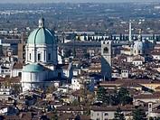Italy, Lombardy, Brescia, cityscape