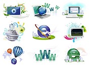 Web icon set (thumbnail)