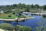 Japanese garden, Van Nuys, California