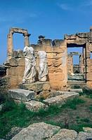 Africa, Libya, Shahat, the roman ruins