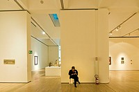 Italy, Trentino Alto Adige, Rovereto, interiors of the Modern and contemporary museum
