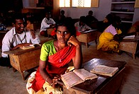 India, Tamil Nadu, School, Group of Student