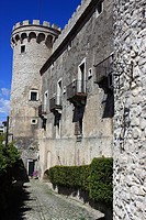 Italy,Molise,Monteroduni, Pignatelli castle