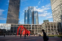 Paris, France- Commercial Architecture, Corporate Headquarters Buildings, French Companies, La Défense Commercial Center