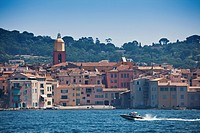 The Old Town of Saint Tropez
