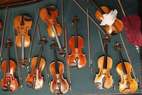 Group of violins