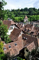 Bern (Switzerland): houses in the city&#8217;s center