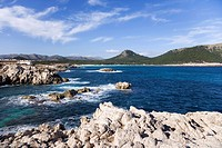 Rocks on Mediterranean coast (thumbnail)