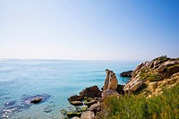 Cliffs on Mediterranean Coast (thumbnail)