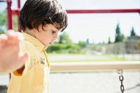 Boy on playground (thumbnail)