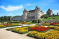 France, Poitou Charentes, Charente-Maritime, La Roche Courbon Castle