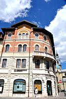 Asiago (Veneto, Italy): house in the town's center