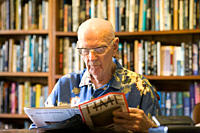 Sir Arthur C Clarke, 1917 – 2008, the British science fiction writer, inventor and futurist, most famous for his novel, 2001: A Space Odyssey Clarke l...