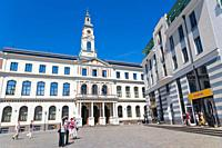 Riga City Council, Rigas Dome, Town Hall Square, Ratslaukums, Old Town, Vecriga, Riga, Latvia