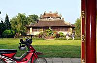 Royal library in the forbidden purple city, Citadel, Hoang Thanh, Hue, Vietnam