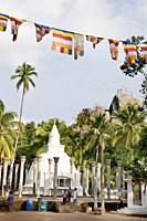 The stupa of the mountain monastery of Mihintale, Sri Lanka, Asia