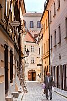 Streets of Bratislava, Slovakia