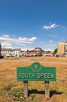 South Green in Southwold , Suffolk , England , Great Britain , Uk