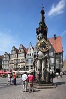 Roland, Bremen, Germany, Europe