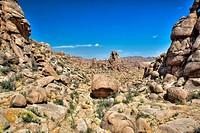 Boulders in Gobi Desert, Mongolia