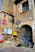 House, Sant Sebastia dels Gorgs, Penedes, Catalonia, Spain.