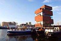 MAS Museum Ann De Stroom, Museum near the Stream, Antwerp, Flanders, Belgium, Europe