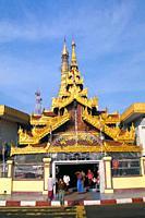 Sule Pagoda, Yangon Rangoon, Myanmar Burma, Asia