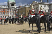 The Changing of the Guard, Horse Guards Parade, London, England, United Kingdom, Europe