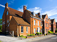 England, Hampshire, Andover. Andover Museum in a former 18th century town house. The museum traces history from Saxon times to the present day.