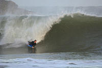Surfing, Broad Haven South, Pembrokeshire, Wales, UK, Europe rr