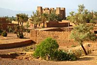Kasbah in the Dades Valley (Morocco)