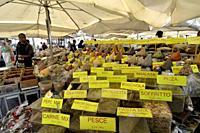 Campo dei Fiori square market. Rome, Italy.