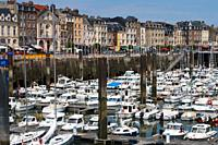 France, Normandie, Dieppe harbor