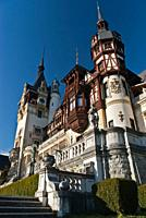 Peles castle, Sinaia, Romania, Europe
