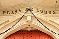 entrance of Plaza de Toros Maestranza Sevilla Andalucia Spain