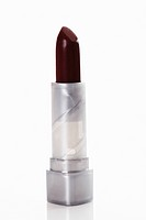 Close up of lipstick against white background
