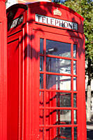 Red telephone box, London (thumbnail)