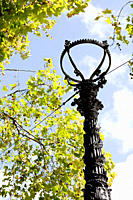 Lamppost in London
