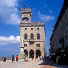 Palazzo Pubblico _ The Town Hall and official Government Building in the capital city of San Marino