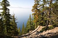 Cleetwood Cove Trail - Crater Lake National Park Oregon