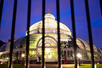 Sefton Park Palm House Liverpool  England  UK