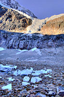 Mt. Edith Cavell with Angel Glacier, Jasper National Park, Alberta, Canada