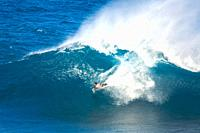 El Fronton wave during the IBA El Fronton Invitational on Gran Canaria
