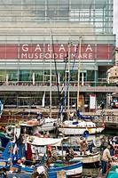 Museo del mare, Galata, Maritime Museum, Genoa, Italy