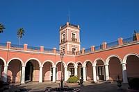courtyard of the palacio san jose, concepcion del uruguay, entre rios, argentina